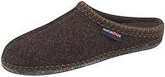 Haflinger Boiled Wool Slippers (AS65) - Chocolate - Women's/Men's  Haflinger Clogs - Mens Slippers - FREE SHIPPING!