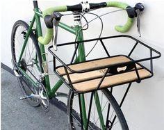 Minoura Gamoh Front cargo rack - Bay Area Bikes Oakland CA