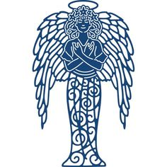 Tattered Lace Die - ANGEL OF TRANQUILITY, SO