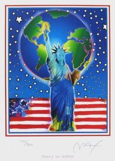 Peace on Earth, Ltd Ed Lithograph