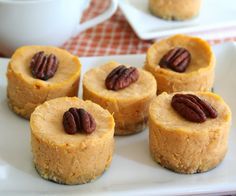 Mini Maple Pumpkin Cheesecakes -- These are fabulous!  My whole family loves them including my 6 year old.