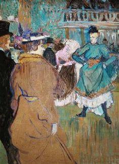 Henri de Toulouse-Lautrec - Quadrille in the Moulin rouge