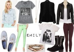 """""""Inspired By: Pretty Little Liars -- Emily"""" by sarastrauss on Polyvore"""