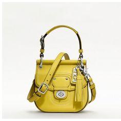 New Mini Willis Coach bag. I need it.