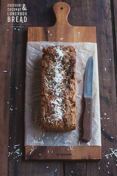 Healthy Zucchini Coconut Bread