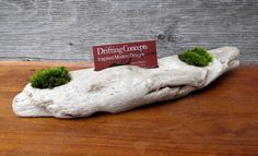 Driftwood Business Card Holder Busines Card by DriftingConcepts