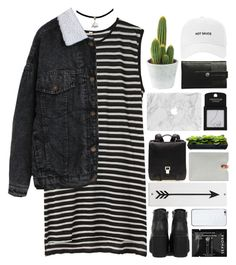 """""""Taina"""" by justonegirlwithdreams ❤ liked on Polyvore featuring R13, Charbonize, Sephora Collection, N'Damus, Topshop, Valentine Goods, Proenza Schouler, Rosanna, women's clothing and women"""