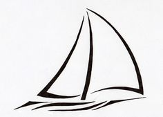 sailboat tattoo | Tribal Sailboat v2 by Sumad-Artson on deviantART