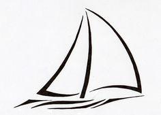 sailboat tattoo | Tribal Sailboat v2 by Sumad-Artson on deviantART