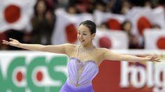 mao asada 2014   Mao Asada wins Skate America women's title   Boston Herald