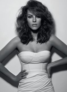 I think if I trimmed a couple inches off my hair, It would look like this on a daily basis.