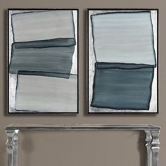 Charcoal Echo 1 from Z Gallerie 25.5''W x 37.5''H each ($300 each)