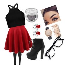 """Untitled #8"" by nagyanita on Polyvore featuring Michi and Jessica Carlyle"