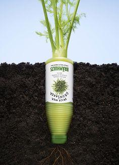 Drink more vegetables Advertising Agency: Bulldozer Reklambyrå, Karlstad, Sweden Art Director: Andreas Österlund Copywriter: Jenny Eklund Photogra