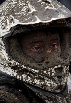 Adrian Dennis / AFP - Getty Images A junior rider looks on following his quad bike race.