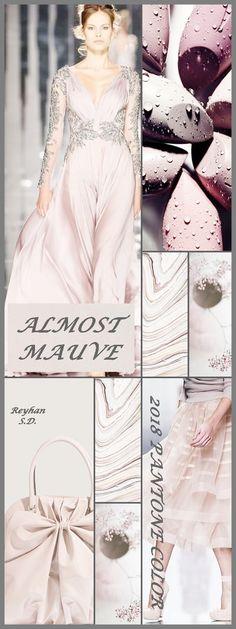''Almost Mauve - 2018 Pantone Color '' by Reyhan S.D.