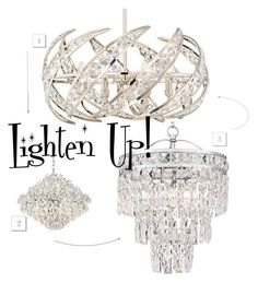 """""""Lighten Up!"""" by lampsplus ❤ liked on Polyvore featuring interior, interiors, interior design, home, home decor, interior decorating, Home and chandelier"""