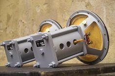 Oleg Rullit uploaded this image to & AERO 8 field coil& See the album on Photobucket. Open Baffle Speakers, High End Speakers, High End Hifi, Horn Speakers, Diy Speakers, High End Audio, Portable Speakers, Audio Amplifier, Hifi Audio
