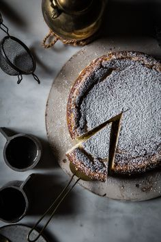 White Chocolate Ricotta Cheesecake with Lemon, Cardamom, and Nutmeg   Recipe, Photography, Styling by Beth Kirby of Local Milk   New Thanksgiving Classic