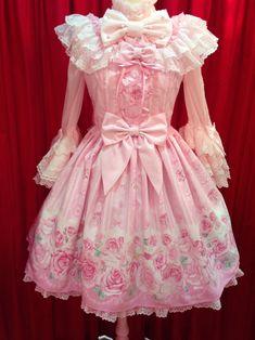 Angelic Pretty | Romntic Rose Letterジャンパースカート