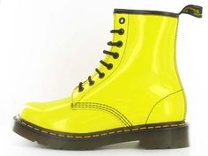 Doc Martens; I swear I looked through the whole tag and there isn't a single picture of the plain black 8-eyelet. Whatev, neon is in for spring, I'd take these too. ;)