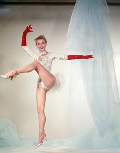 Vera Ellen...she was truly a living Barbie doll