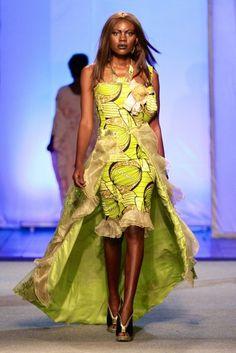 Gloria Sistar @ Kinshasa Fashion Week 2013 | FashionGHANA.com (100% African Fashion)FashionGHANA.com (100% African Fashion)