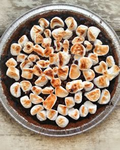 DairyFree S'more Pie using AVOCADO! So good, So Summery and SO easy to make!  glutenfree, grainfree, eggfree, vegan