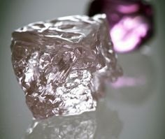 Diamond Gemstones The real Pink Panther: Australia's largest rosy diamond is discovered The jewel The real Pink Panther: Australia's largest Gem Diamonds, Colored Diamonds, Rough Diamond, Diamond Gemstone, Minerals And Gemstones, Rocks And Minerals, Panther, Rocks And Gems, Stones And Crystals
