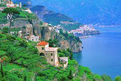 The Amalfi coast. Speachless.