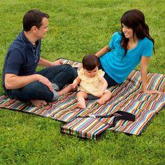 Skip Hop Central Park Outdoor Blanket And Cooler Bag Bed Bath