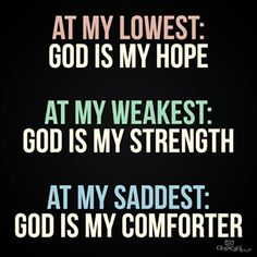Wow! Love this. God is my everything!!