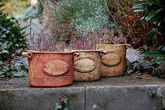 Planting Succulents, Potted Plants, Hand Built Pottery, Play Clay, Handmade Pottery, Yard Art, Rock Art, Garden Pots, Planter Pots