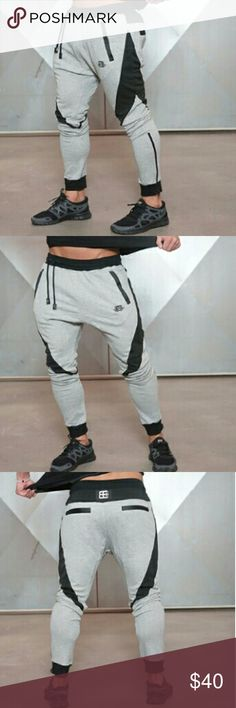 BODY ENGINEERS GYM SWEATPANTS JOGGERS BRAND NEW WITH TAGS!  SIZE: US MEDIUM ( ASIAN L) Country/Region of Manufacture: China Style: Elasticity Slim Fit  Material:95% Cotton 5% Spandex Function: Muscle Workout Fitness  NAME IS USED FOR REFERENCE AND EXPOSURE Nike Pants Sweatpants & Joggers