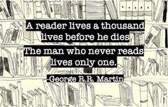 A thousand lives...