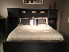 Another good option! Storage Headboard