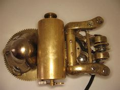 The bug, one of the few steampunk mouse mods that I really like :)