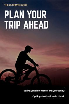 Bali's famous Ubud offers endless destinations for those who want to explore it. Try one of the Ubud cycling tours to enjoy the town in a unique way. #traveling #Bali #mountainbiking