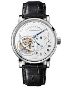 """A. Lange & Söhne Richard Lange Tourbillon Pour Le Mérite Watch White Gold Boutique Edition - by David Bredan - on aBlogtoWatch.com """"A. Lange & Söhne announced the A. Lange & Söhne Richard Lange Tourbillon Pour Le Mérite in late 2010, and at the time, it was pretty much the be-all and end-all timepiece in Lange's history... just the name of this new release indicated that it was something even more special..."""""""