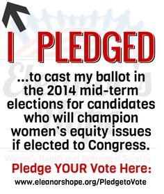Have YOU taken the pledge yet?
