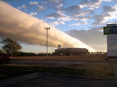 Picture of the Day: Texas Roll Cloud