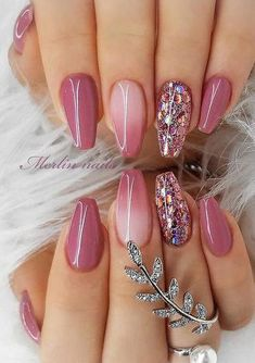 How To Paint Your Nails Like A Pro Astonishing pink.- How To Paint Your Nails Like A Pro Astonishing pink tones nail polish - Best Acrylic Nails, Acrylic Nail Designs, Nail Art Designs, Nails Design, Diy Nails Manicure, Gel Nails, Nail Polish, Pink Polish, Fabulous Nails