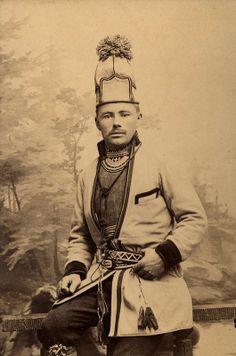 Samisk mann fra Sverige. 1900-1910. Fjellstedt ?