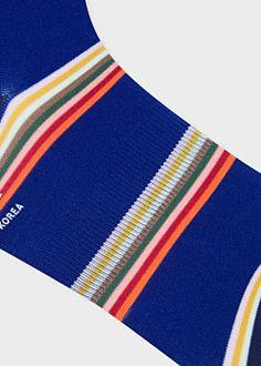 7dd8607b62dbb9 Corgi Striped Ribbed Cotton-Blend Socks | Dockers | Designer socks, Mens  designer socks, Socks