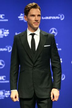 Benedict Cumberbatch attends the 2014 Laureus World Sports Awards to host the event at the Istana Budaya Theatre on March 26, 2014 in Kuala Lumpur, Malaysia.