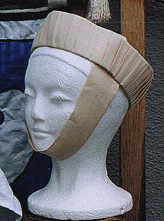 Easy 13th Century hat  #historicalhair #SCA #hairstyles