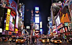 Times Square in Midtown Manhattan,  New York City