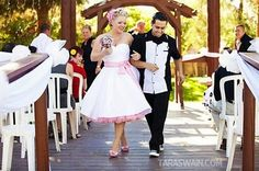Rockabilly wedding