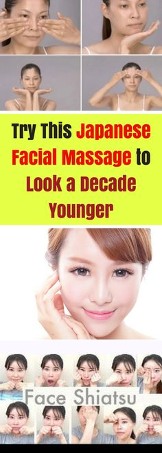 How to give yourself a korean facial massage in gifs facial this is a japanese technique for looking younger in just 14 days do this massage solutioingenieria Images