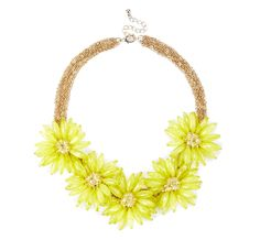 Sole Society Accessories - Oversized floral necklace